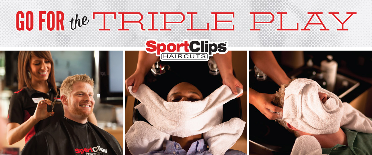 The Sport Clips Haircuts of Draper  Triple Play