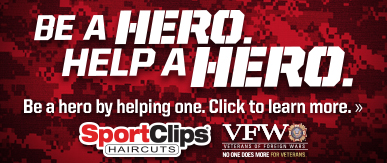 Sport Clips Haircuts of Draper ​ Help a Hero Campaign